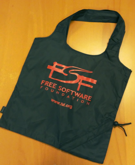 The FSF Collapsable Tote Bag