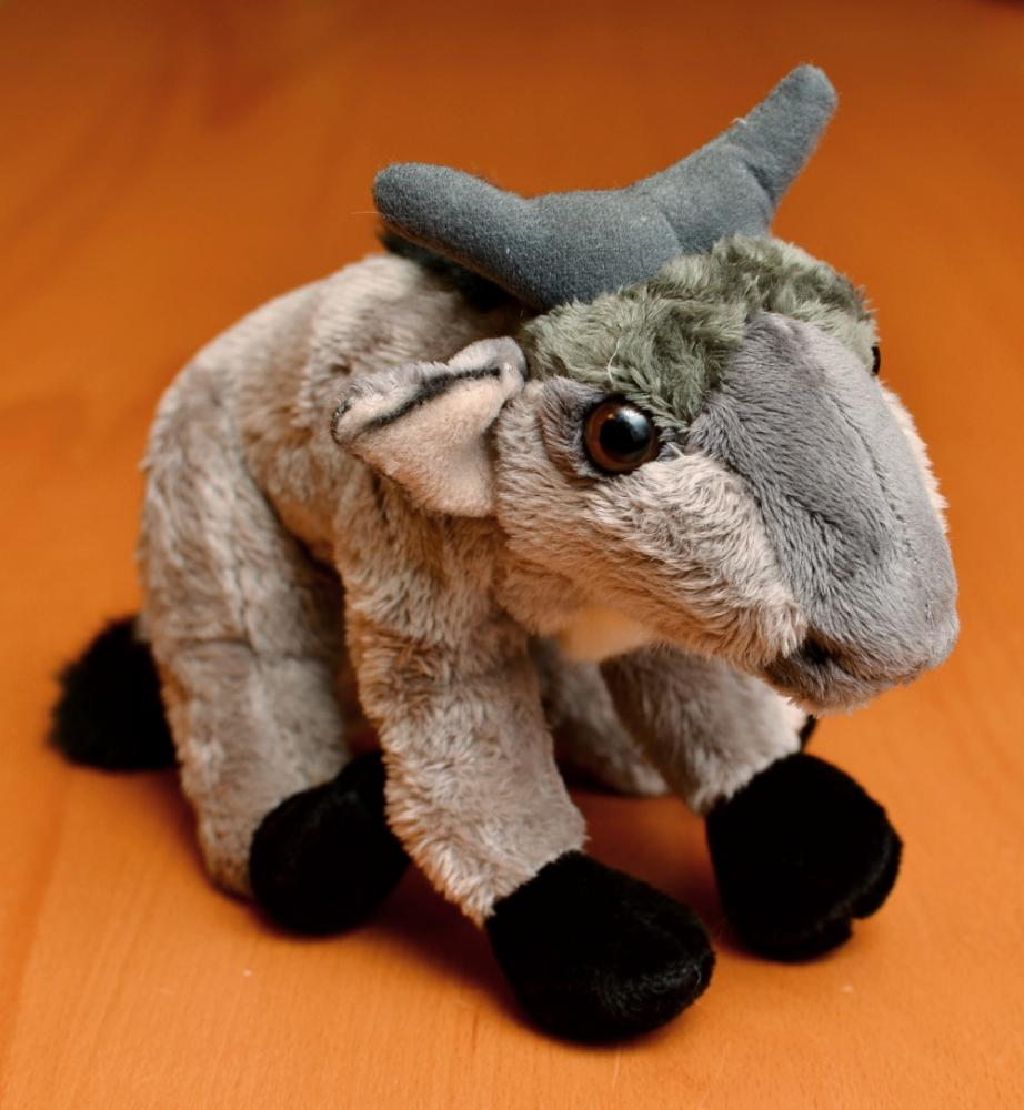 Stuffed Baby Gnu Fsf Shop